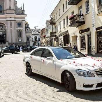 Automobilių nuoma vestuvėms VIP-Mercedes.lt