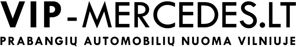 VIP-Mercedes.lt juodas logotipas
