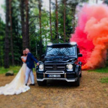 Mercedes Benz G-Class automobiliai vestuvėms
