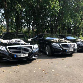 Mercedes Benz S-Class W222 automobiliai