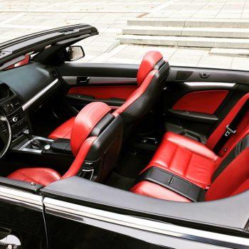 Mercedes Benz E-Class kabrioleto salonas